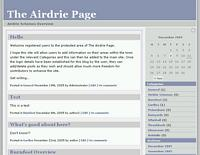 Airdrie Schemes screenshot